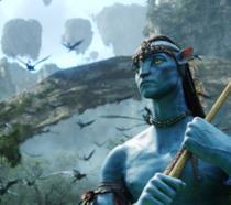 Una scena del film Avatar