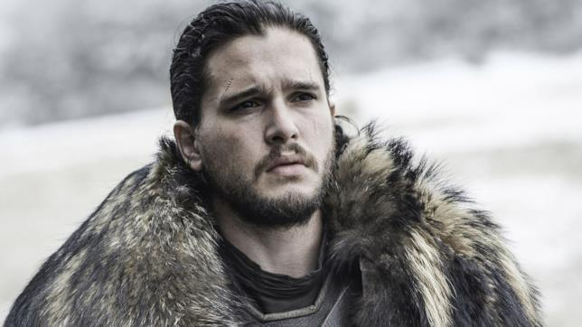 Kit Harington nei panni di Jon Snow in Game of Thrones 7