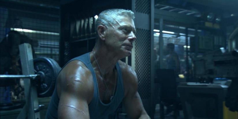 Un'immagine di Stephen Lang in Avatar
