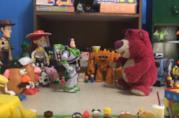 I protagonisti di Toy Story 3 nel remake fan-made