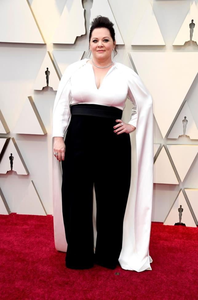 Melissa McCarthy - red carpet Oscar
