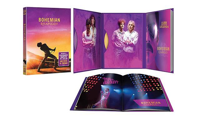 La Digibook edition di Bohemian Rhapsody, con i contenuti
