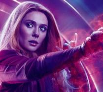 Wanda in uno dei poster a lei dedicata di Avengers: Endgame
