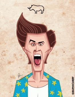Jim Carrey: la carriera in una GIF