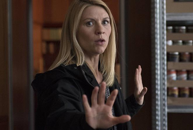 Claire Danes è Carrie Mathison in Homeland