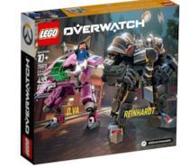 LEGO Overwatch D.Va Reinhardt