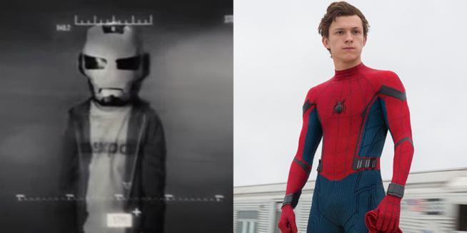 Ieri e oggi. Un giovanissimo Peter Parker e un più adulto Spider-Man