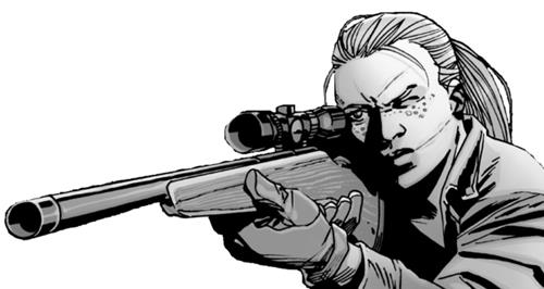The Walking Dead: Andrea a fumetti