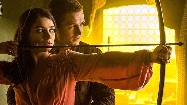 Robin Hood: Origins - una scena con Robin e Marian