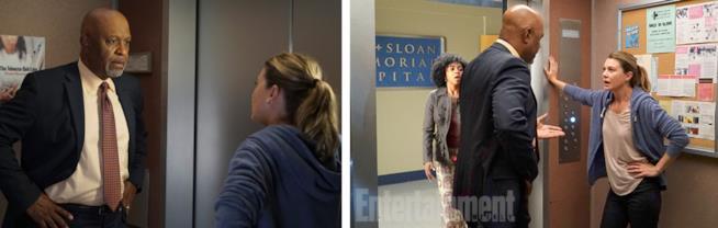 Meredith e Richard nell'episodio 1 di Grey's Anatomy 13