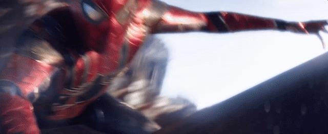 L'armatura di Iron Spider nel trailer di Infinity War