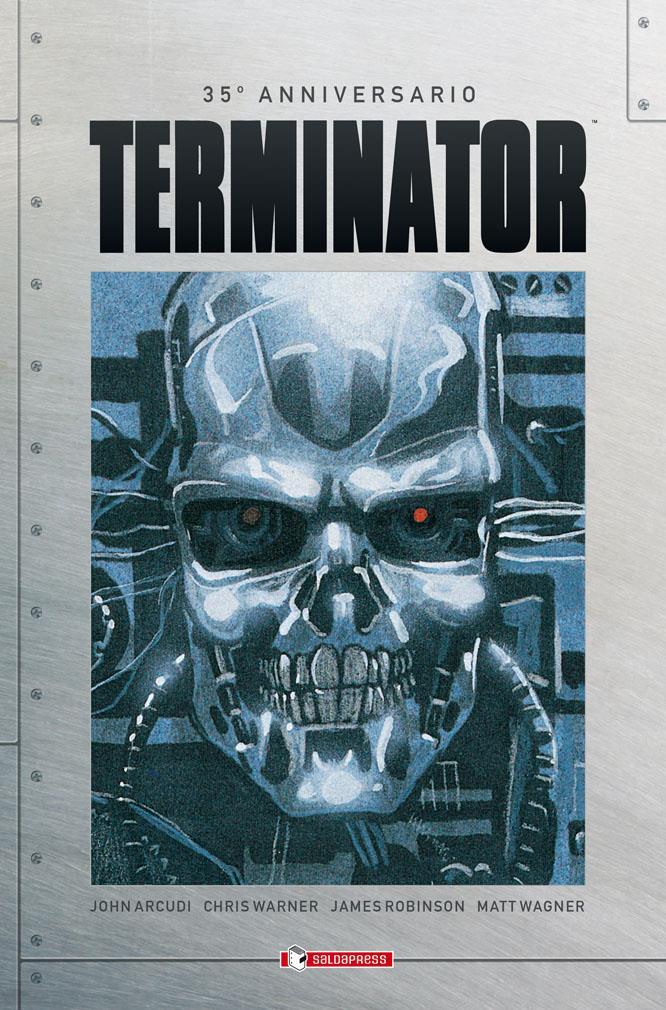 Terminator fumetto Saldapress