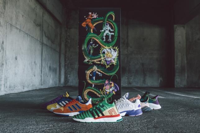 Tutti i modelli di scarpe Dragon Ball Z