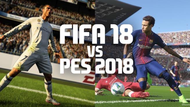 PES 2018 e FIFA 18 si fidano anche quest'anno