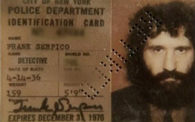 Il distintivo da detective di Frank Serpico