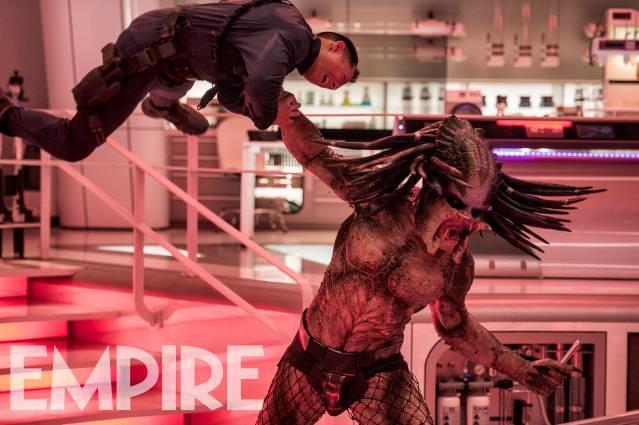 Una scena del nuovo Predator