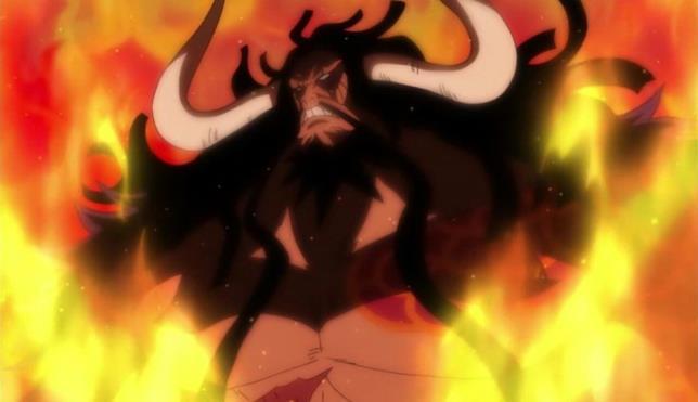 Kaido nelle fiamme quattro imperatori