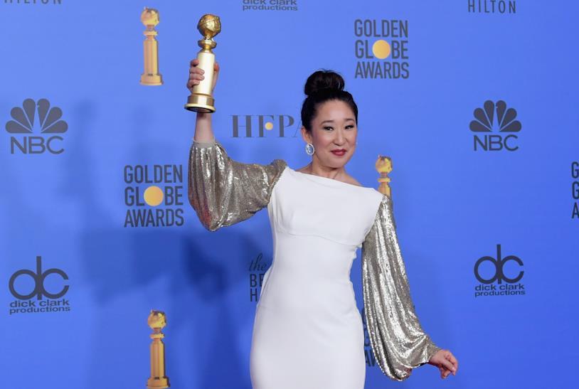 Sandra Oh ai Golden Globes 2019