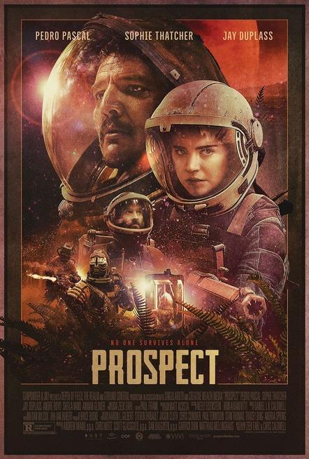 Il poster ufficiale di Prospect