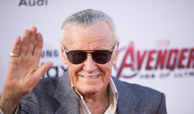 Il grande Stan Lee sul red carpet