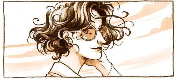 Maria Morreale disegnata da Giulio Macaione
