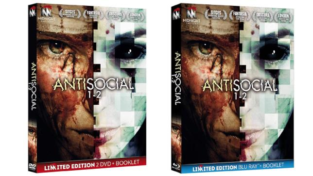 Antisocial 1-2 - Home Video - DVD e Blu-ray