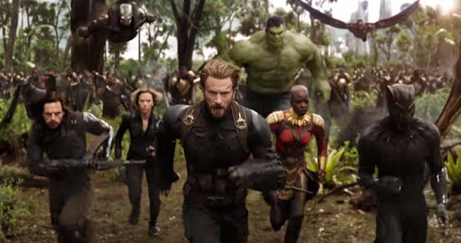 Chris Evans guida i Vendicatori nel trailer di Avengers: Infinity War