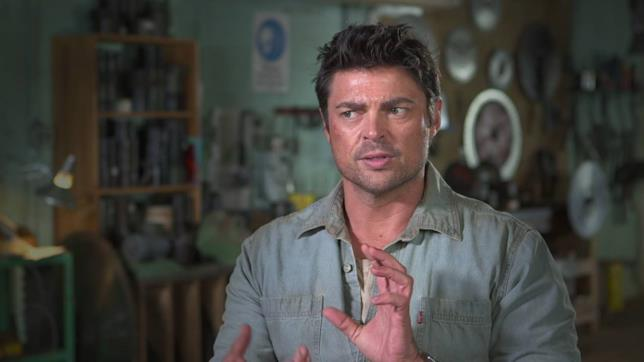 Karl Urban in Il Drago Invisibile