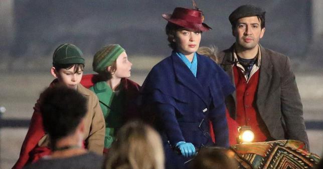 Una scena de Il ritorno di Mary Poppins