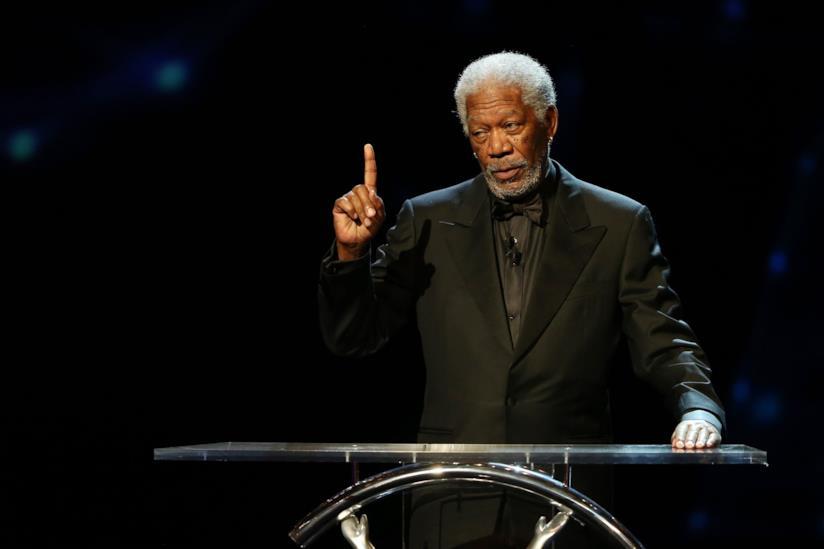 Morgan Freeman a un evento