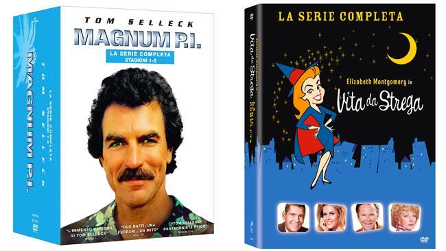 Vita da strega e Magnum P.I. - le serie complete in formato DVD