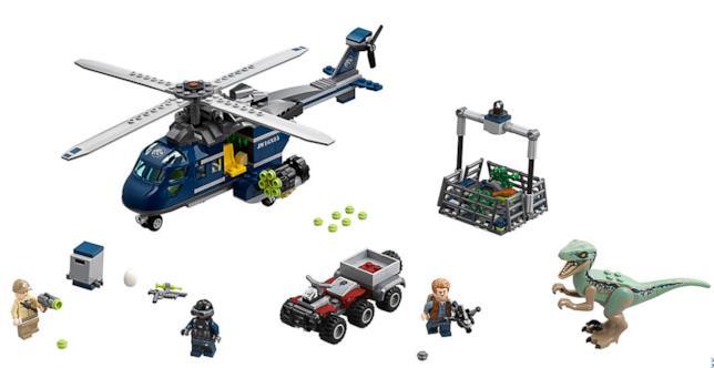 Dettagli del set di LEGO Inseguimento sull'elicottero di Blue