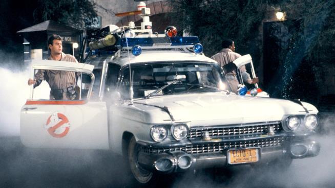 Scena tratta dal film Ghostbusters