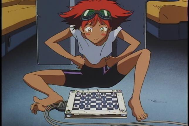 Ed gioca a scacchi contro Hex