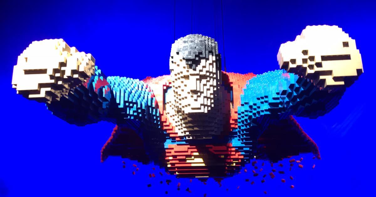 Nathan Sawaya: la mostra dei supereroi costruiti con i ...