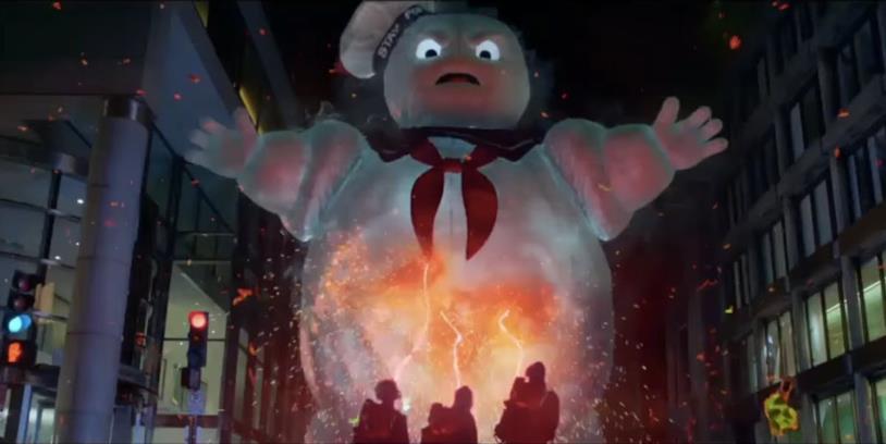 Lo stay Puft nel reboot di Ghostbusters contro le acchiappafantasmi