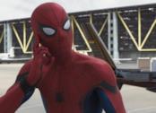 Tom Holland nel ruolo di Spider-Man