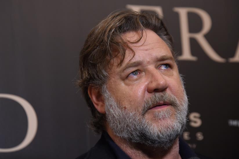 Russell Crowe allo screening di Boy Erased a New York