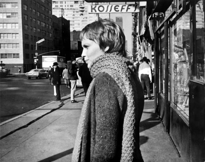 Mia Farrow in una foto anni 70