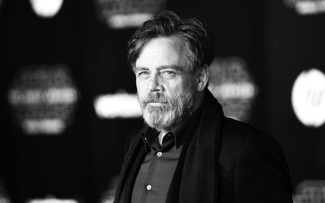 Mark Hamill alla prima di Star Wars 7