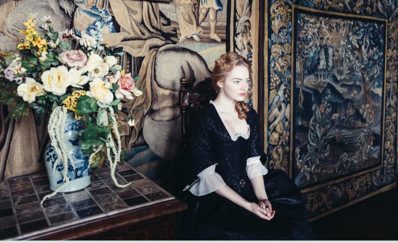 Emma Stone nei panni di Lady Abigail