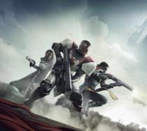 Titano, Cacciatrice e Stregone sulla cover di Destiny 2