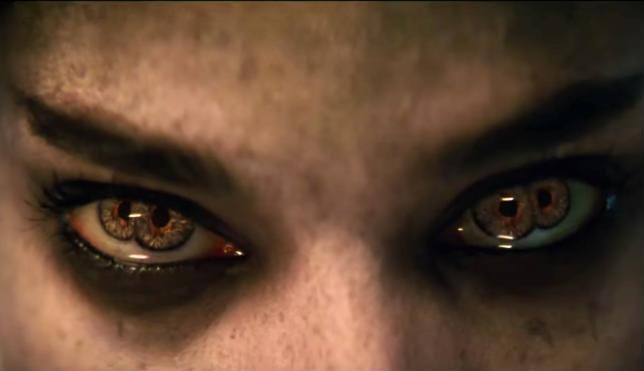 Remake de La Mummia occhi