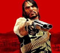 John Marston impugna la sua carabina nel primo Red Dead Redemption