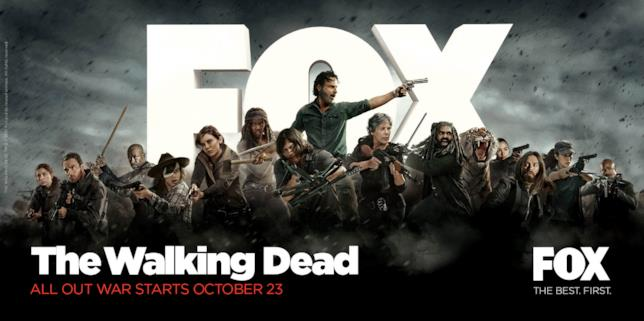 Il nuovo poster di The Walking Dead 8