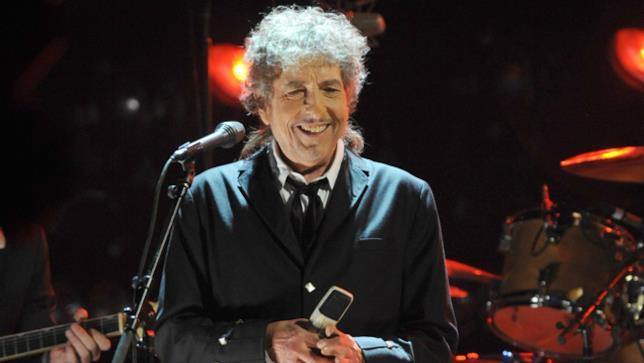 Bob Dylan ad un concerto