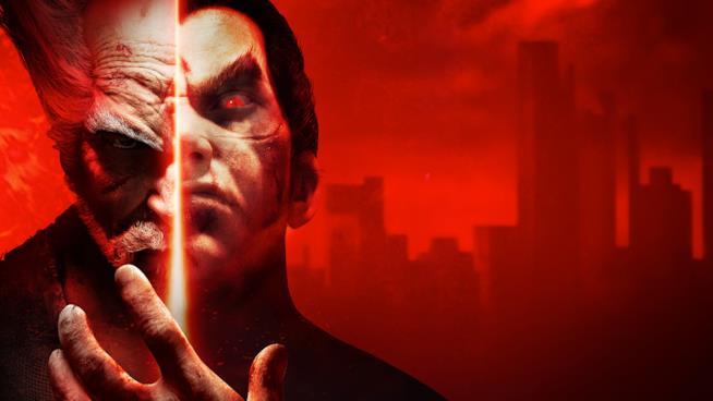 I lottatori di Tekken in un artwork ufficiale