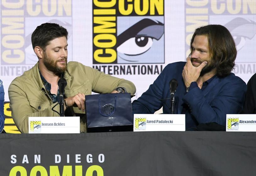 Jensen Ackles e Jared Padalecki al panel di Supernatural 2019