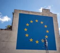 Murale Brexit di Banksy