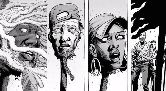 L'opera dei Sussurratori nel fumetto di The Walking Dead